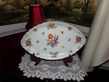 Rare Antique Epiag Pattern  Floral  Serving Platter Czechoslovakia or a vanity