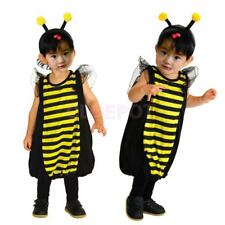 Bumble Bee Costume Kids Honey Bee Toddler Party Fancy Dress Animal Insect Outfit