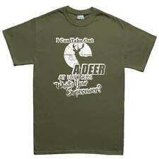 Take Out Deer Hunter Hunting Gift Mens T shirt Tee Top T-shirt