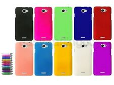 Hard Back Cover Case for HTC Desire 516 Dual SIM + Screen Protector + Stylus