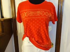 New!  Lucky Brand Red Bandana Print Knit Top    $39.50