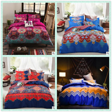 New Christmas Single/Queen/King Size Bed Quilt/Doona/Duvet Cover Set Polyester