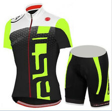New Cycling Bike Shorts Jersey Sports Sleeve Set Sports Unisex Bicycle Short Set