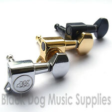 Wilkinson WJ07 machine heads tuners chrome black gold