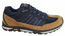 Timberland Mens Low Lace Up Brown Navy Waterproof Hiking Shoes A193R D134