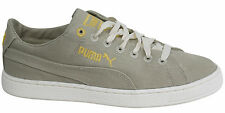 Puma Biodegradable Lace Up Mens Textile Grey Yellow Trainers 354114 01 U109