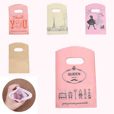 50pcs Plastic Packaging Bags Wedding Christmas Home Party Candy Cookie Gift Bags