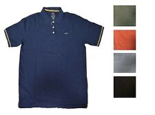 NEW IZOD Mens Solid Slubby Knit Cotton Polo Shirt Sz S M L XL 2X 3X  270200RM