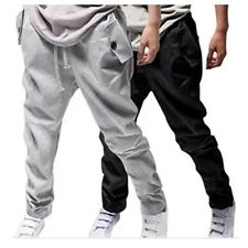 NEW Men's Casual Loose Sweatpants Trousers Hip-hop Baggy Harem Pants Slacks