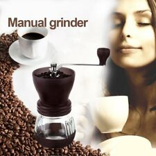 Coffee Grinder Household Beans Ceramic Grinding Machine Hand Manual Burr Mill