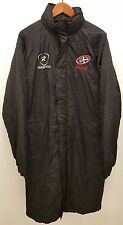 RugbyTech Cornish Pirates Clubwear Bench Jacket Black Size S- 4XL