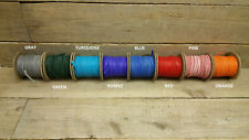 """Deerskin Deer Leather Lace Spool Roll 1/8"""" x 50 FT Lacing Cord String Craft F-3"""