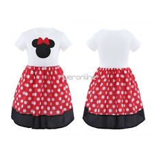 Infant Baby Girls Christmas Halloween Costume Cosplay Party Fancy Dress Red New