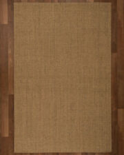 Natural Area Rugs Pavillion Sisal Handmade Brown Area Rug