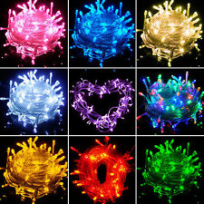 100/200/300/400 LED Christmas Tree Fairy String Party Light Xmas Waterproof Lamp