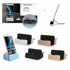 Desktop Charger Stand Dock Station 2.0 Micro USB SYNC Cradle For Samsung HTC LG