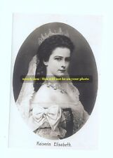 mm11 - Empress Elisabeth of Austria / Hungary - Sissy - photograph