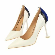 Muilt-color Artificial PU Simple Stiletto High Heel Pointed Toe Women Pump Shoes