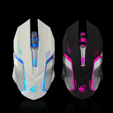 Rechargeable Wireless X7 Silent LED Backlit USB Optical Ergonomic Gaming Mouse