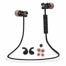 Black -ZH53 Sports Bluetooth Headphone Headset Earphone For Call Phone Samsung