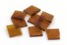 Amber Cathedral Vertigo Mosaic Glass Tile  Cut to Order Shapes | Package