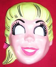 1960s ARCHIE'S GIRLFRIEND BETTY Halloween Mask - Test/Sample/Reject