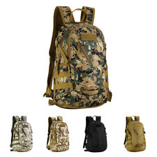 20L Backpack Student Bag Military Army Outdoor Hiking Cycling Travel Pack