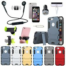 6 x Case Cover 360° Rotating Car Holder Bluetooth Earphones Accessory For iPhone