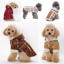 Dog Casual Pet Dog Winter Warm Hoodie Coat Jacket Clothes Clothing Apparel S-XL