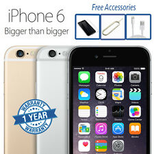 Apple iPhone 6 16GB 64GB 128GB Grey Silver Gold (Unlocked) Smartphone