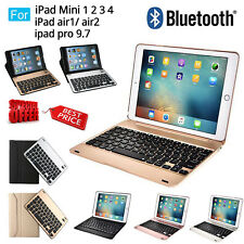 Wireless Bluetooth Keyboard Removable Case Cover For Apple IPad Mini 4/Air 2/Pro