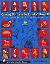 Carving Patterns by Frank C. Russell : From the Stonegate Woodcarving School...