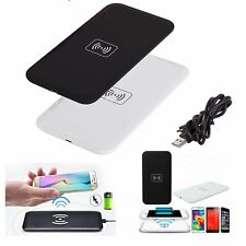 For iPhone 8 / Plus / X / Samsung Qi Wireless Fast Charging Dock Charger Mat