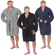 Mens Luxury Spa Robe Cotton Terry Towelling Soft Bath Dressing Gown Pierre Roche