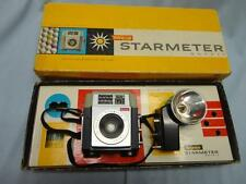 Vintage Kodak Brownie Starmeter Camera w/ Original Box & Instructions