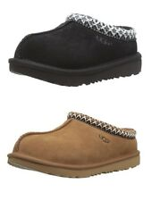 NEW UGG Australia 1019066K Kids' Tasman II Moccasin Slippers Chestnut Black
