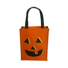 Halloween Party Trick or Treat Bags Loot Bags Carrier Bags with Handle 25x20x8cm