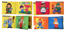 Intelligence Development Educational Soft Cloth Cognize Book Toy For Kids Baby