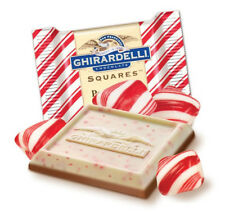PEPPERMINT BARK GHIRARDELLI CHOCOLATE SQUARES (Lindt Lindor) christmas present