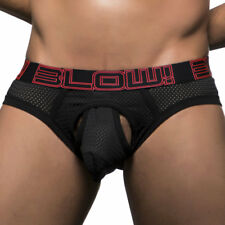 Andrew Christian Men's Underwear Andrew Christian Black Blow! Mesh Brief 90206