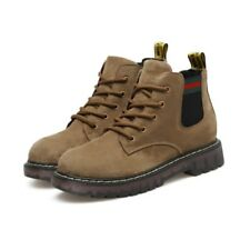 New Retro Casual Martin Boots Fashion Suede Shoes Round Toe Warm Hot Short Boots