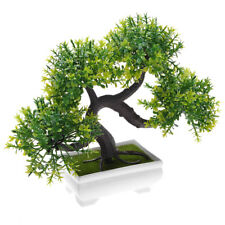 Topiary Artificial Tree Plant Pot Ornament Potted Bonsai Office Home Indoor Deco