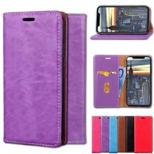 Luxury PU Leather Wallet Flip Magnetic Card Stand Case Cover For Apple iPhone X