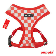 Dog Puppy Harness - Puppia - Grand Prix - Red - Choose Size