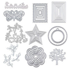 Embossing Stencil Metal Cutting Dies Scrapbooking Album Paper DIY Crafts
