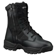 """Smith & Wesson 810401 Breach 2.0 8"""" Waterproof Side Zip Tactical Boot, Black"""
