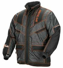 Arctic Cat Men's Iron Dog Snowmobile Coat - Orange / Black - 5250-07_