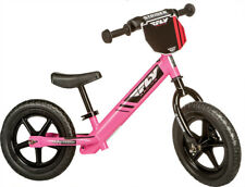 STRIDER Fly Racing Classic Kids Balance Pink Bike No-Pedal Learn To Ride Pre