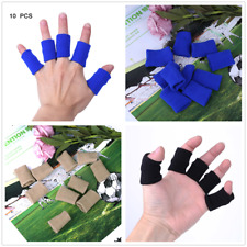 10Pcs Finger Sleeves Brace Sport Safety Thumb  Elastic Compression Protector