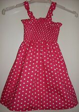 SZ 3 SPOTS (choices) COTTON SHIRRED TOP DRESS BRAND NEW